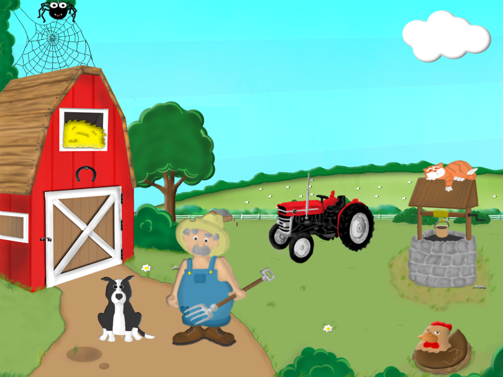 Barnyard Scene With Cake Ideas And Designs